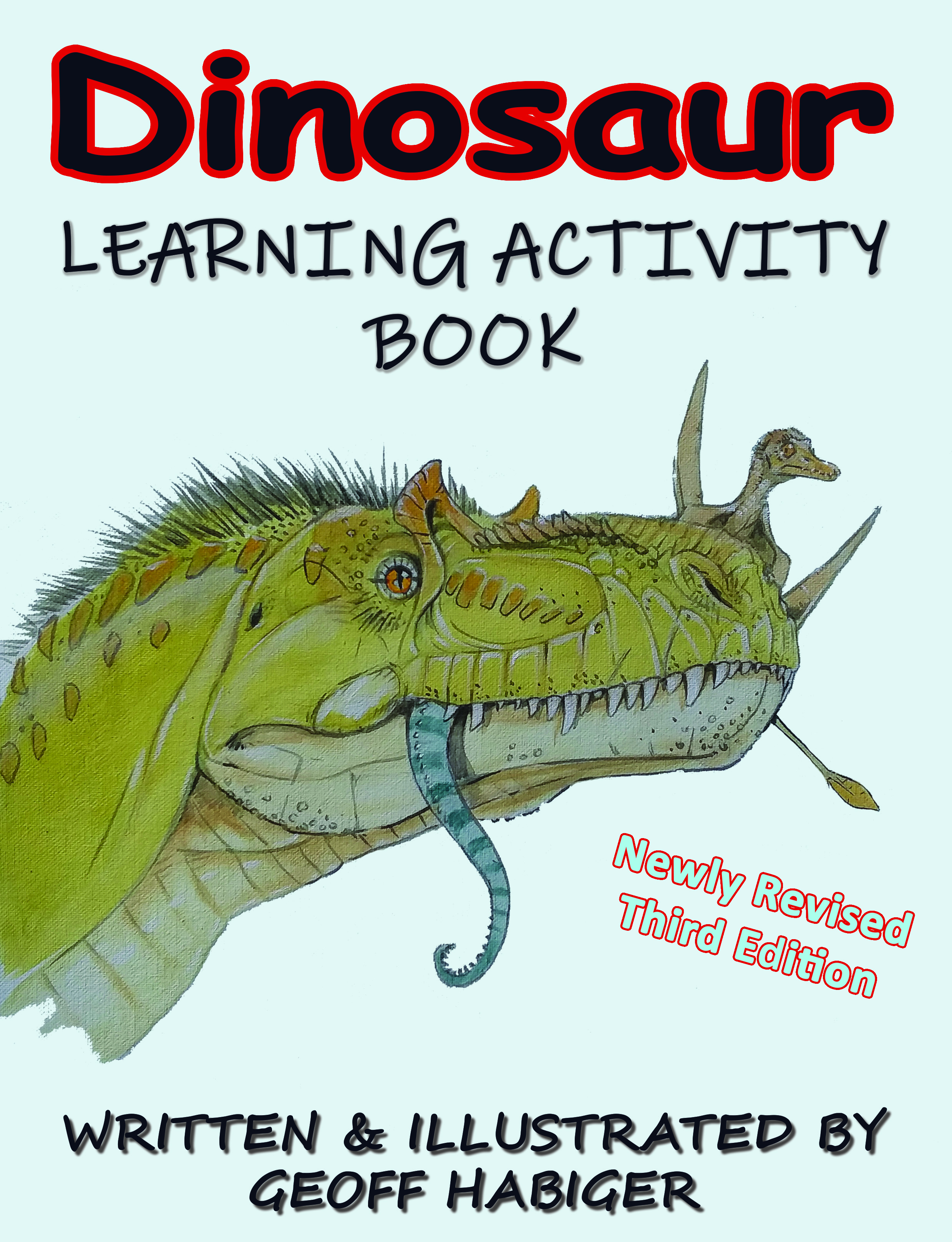 Dinosaur Learning Activity Book